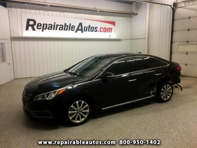 2016 Hyundai Sonata Limited Repairable Rear Damage