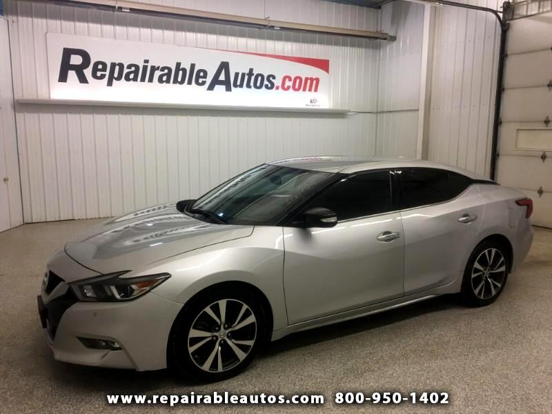 2017 Nissan Maxima 3.5 SV Repairable Water Damage