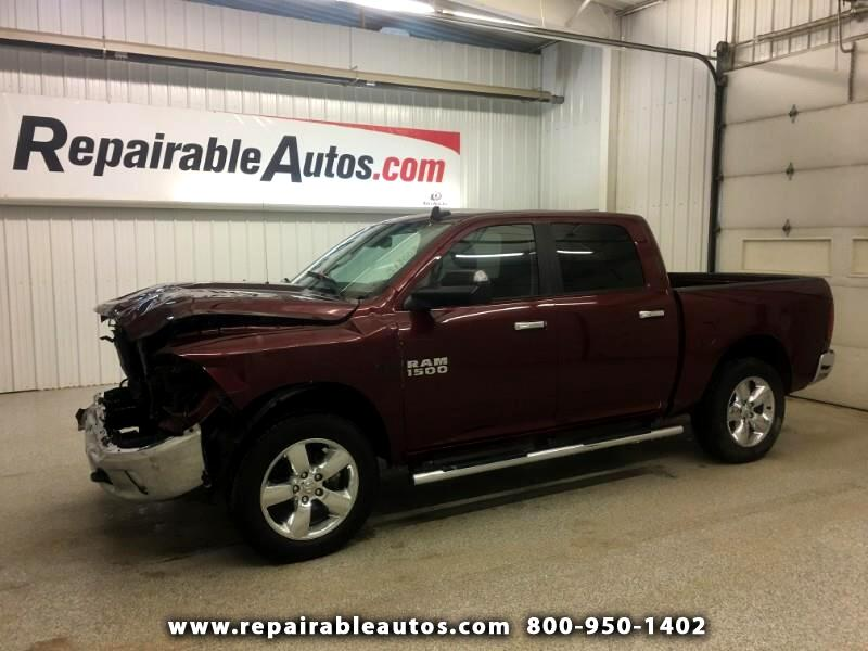 2016 RAM 1500 BIGHORN 4x4 Repairable Front Damage