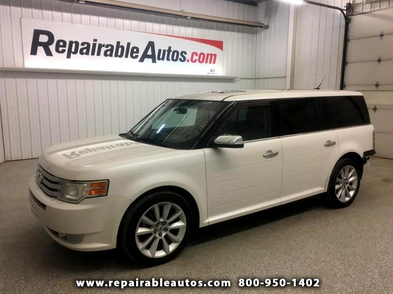 2011 Ford Flex Limited FWD Repairable Rear Damage