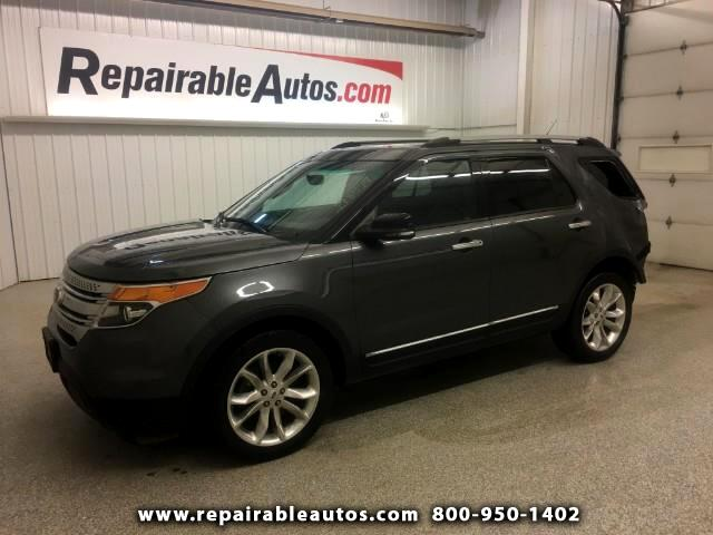 2015 Ford Explorer XLT AWD Repairable Rear Damage