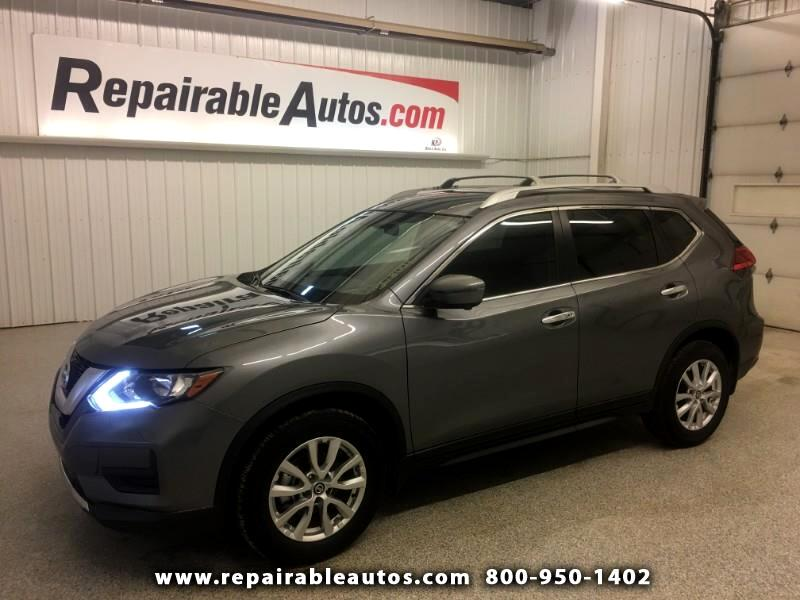 2017 Nissan Rogue FWD Repairable Theft Damage