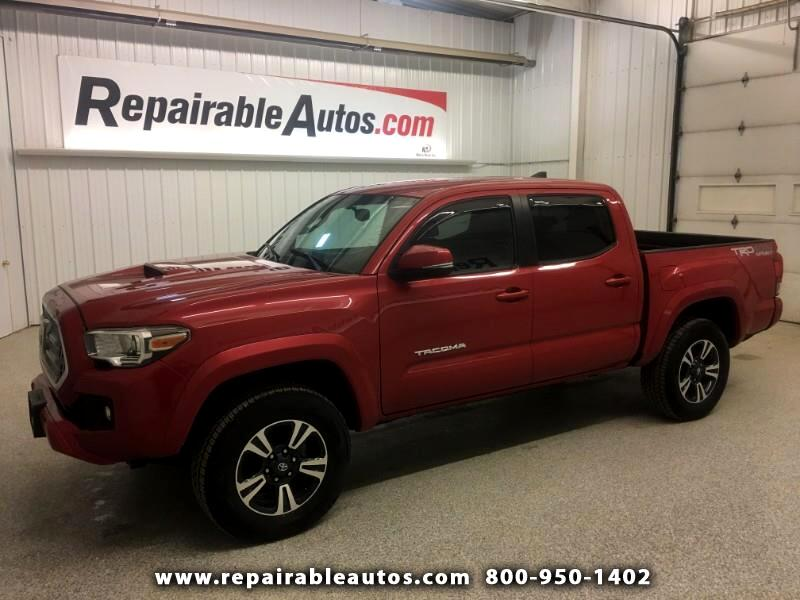 2016 Toyota Tacoma TRD 4WD Repairable Rear Damage