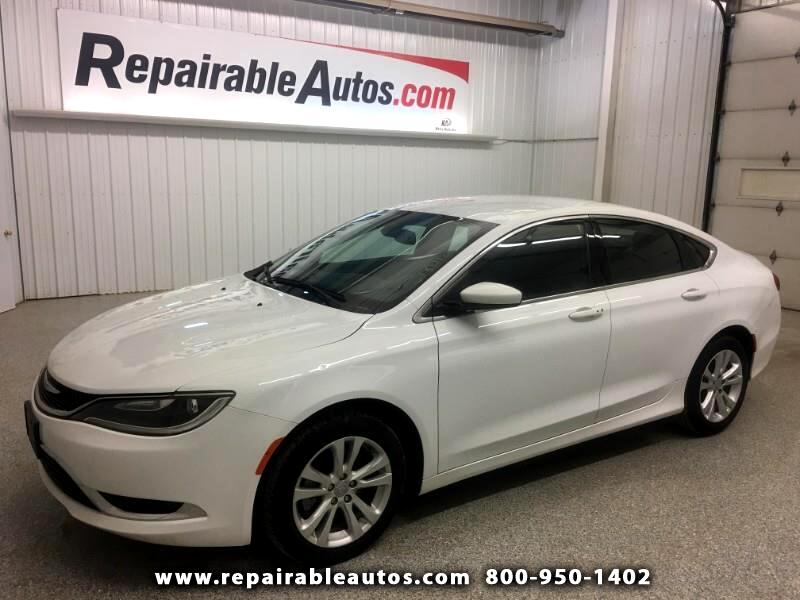 2015 Chrysler 200 Limited Repairable Hail Damage