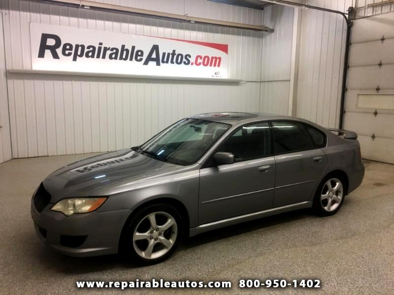 2008 Subaru Legacy Repairable Hail Damage