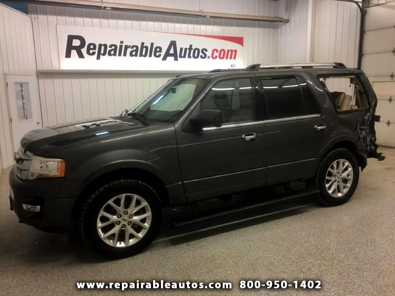2017 Ford Expedition 4X4 Limited Repairable Rear Damage