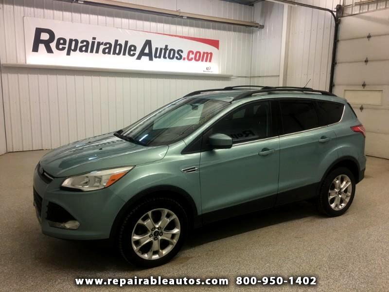 2013 Ford Escape SE 4WD Repairable Hail Damage