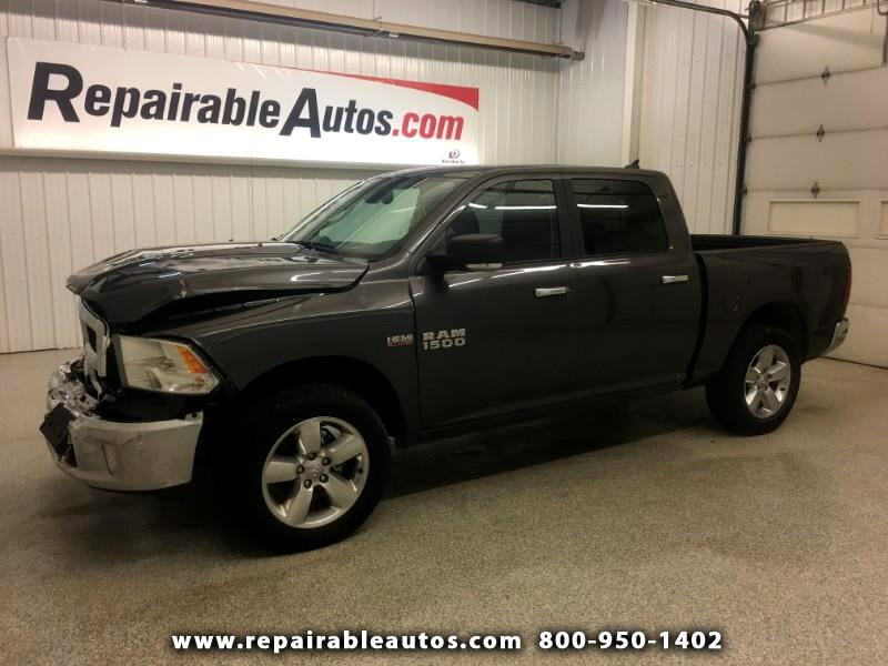 2017 RAM 1500 Big Horn Edt 4WD Repairable Front Damage