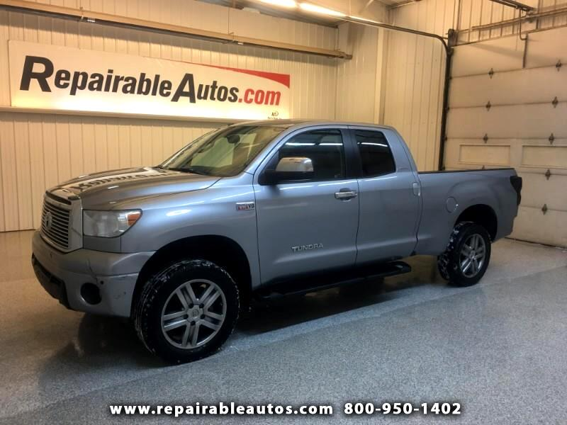 2012 Toyota Tundra Limited Quad 4WD Repairable Side Damage