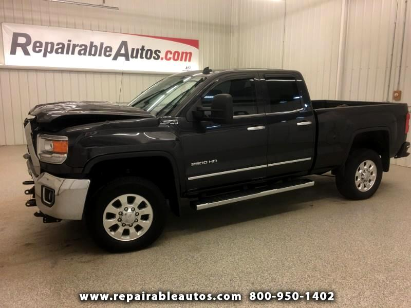 2015 GMC Sierra 2500HD Z71 4WD Repairable Front Damage