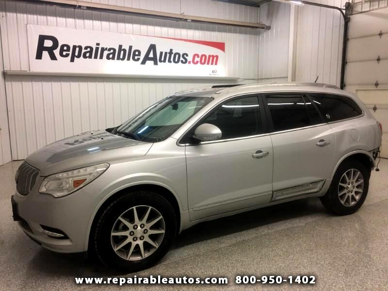 2016 Buick Enclave AWD Repairable Rear Damage