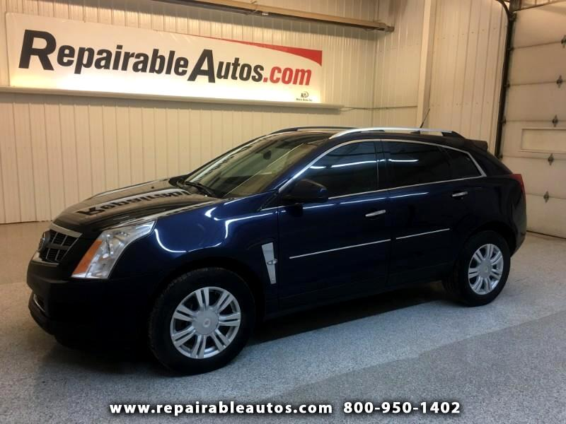 2010 Cadillac SRX FWD Repairable Water Damage