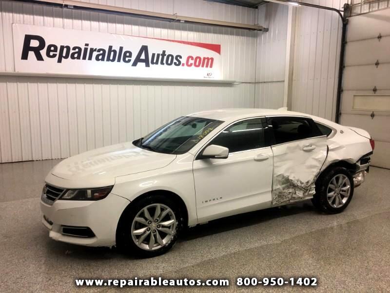 2017 Chevrolet Impala LT Repairable Rear Damage