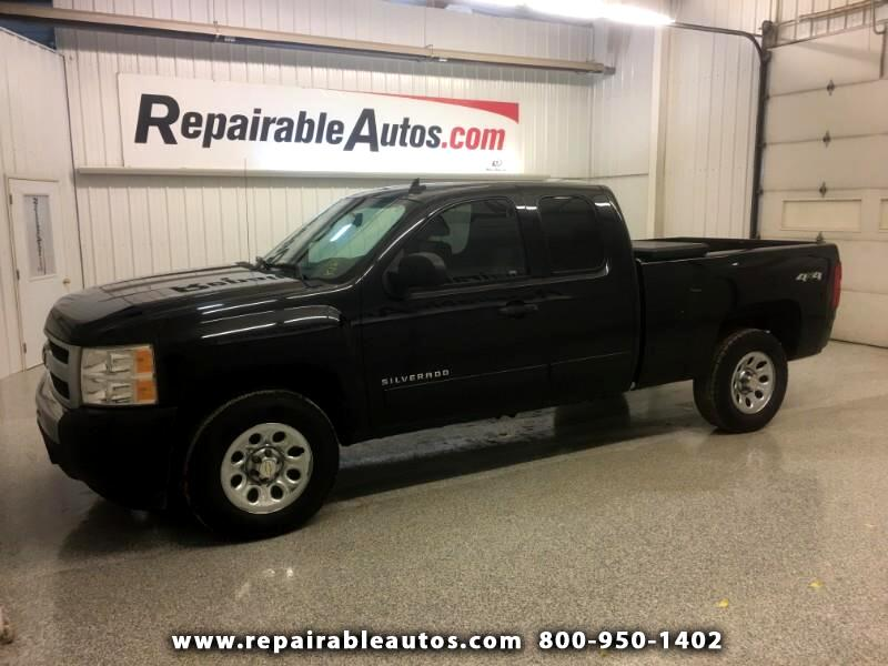 2009 Chevrolet Silverado 1500 LS 4WD Repairable Rear Damage