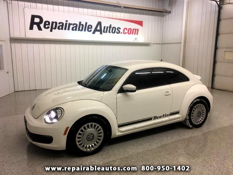 2013 Volkswagen Beetle Repairable Hail Damage