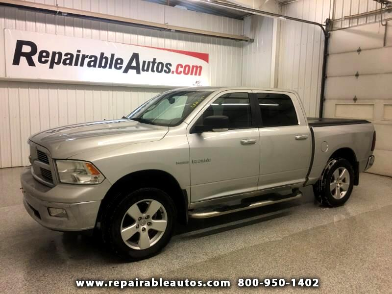 2010 RAM 1500 Bighorn 4WD Repairable Hail Damage