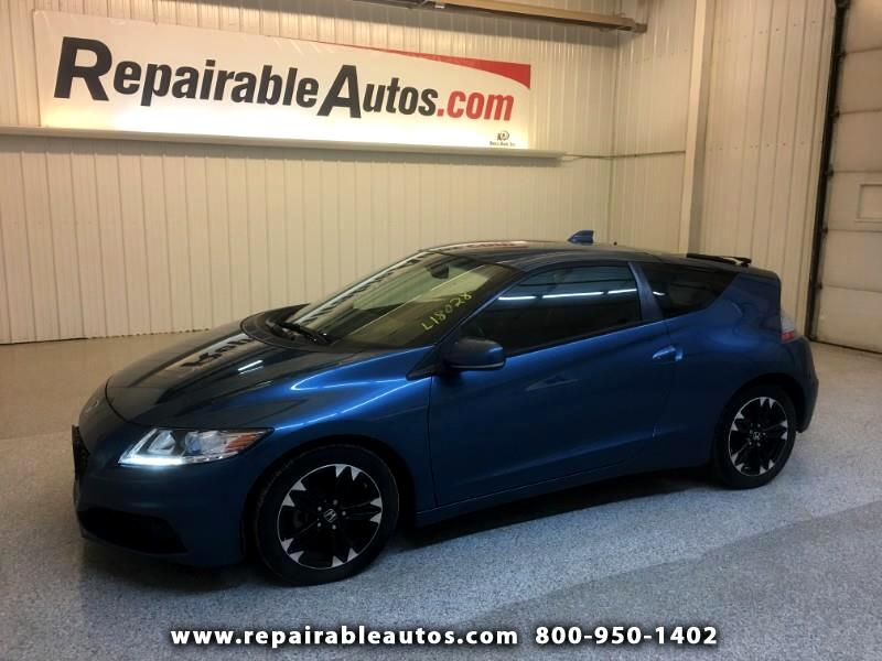 2015 Honda CR-Z 2DR HATCHBACK Repairable Water Damage