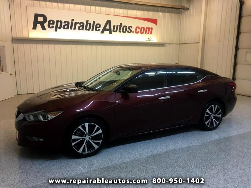 2016 Nissan Maxima Repairable Water Damage