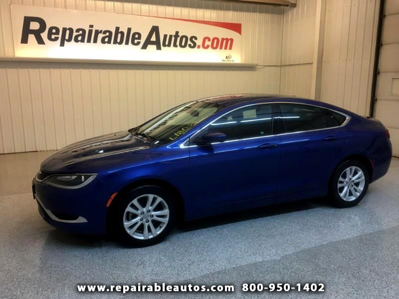 2015 Chrysler 200 Repairable Hail Damage