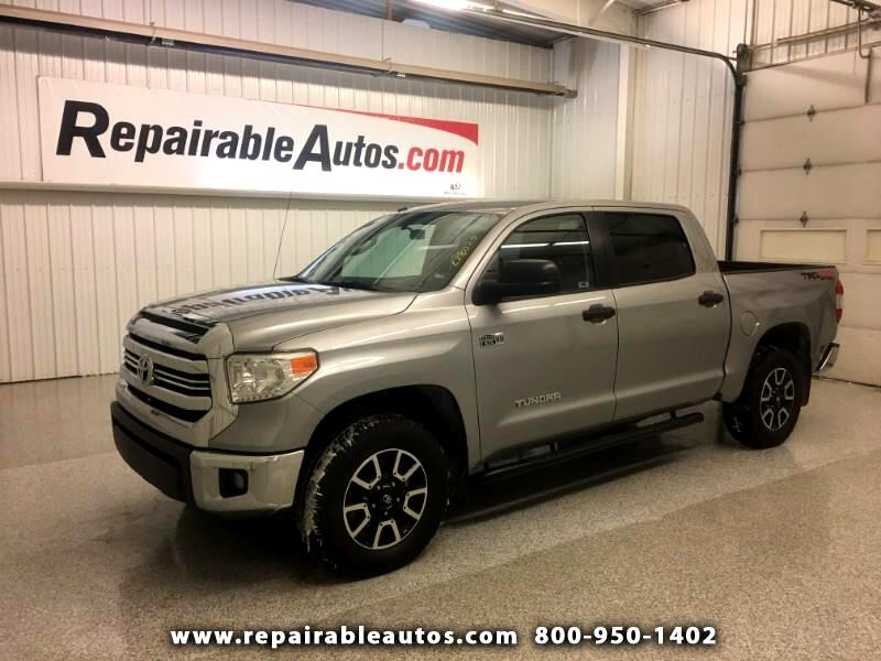 2016 Toyota Tundra SR5 4WD Repairable Rear Damage