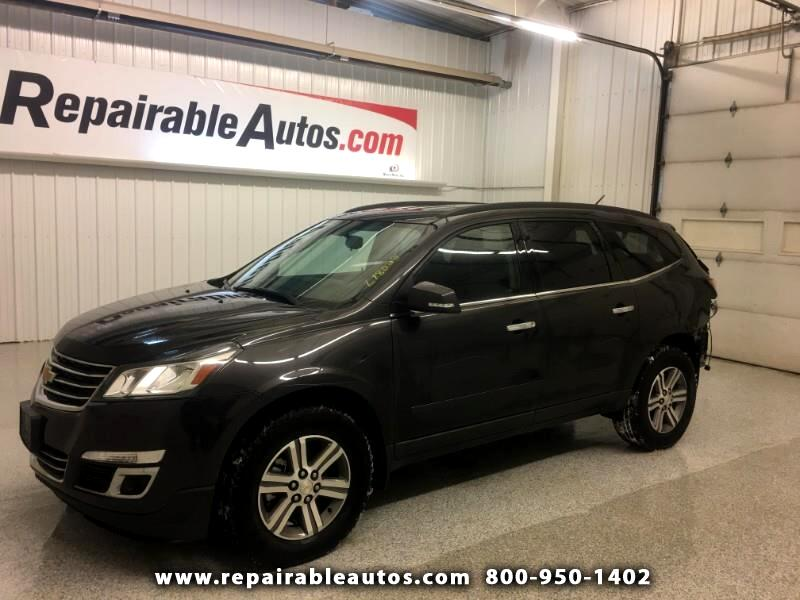 2017 Chevrolet Traverse AWD Repairable Rear Damage