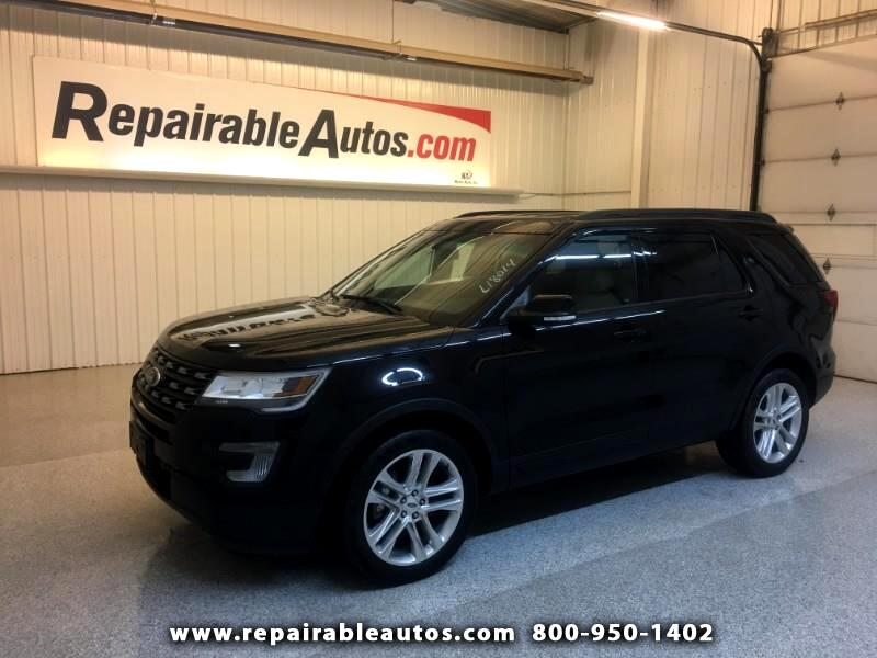 2017 Ford Explorer 4WD Repaired Rear Damage
