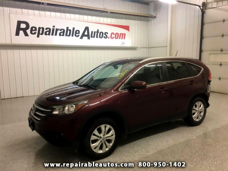 2014 Honda CR-V AWD Repairable Rear Damage