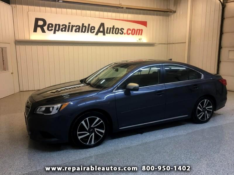 2017 Subaru Legacy AWD Repairable Water Damage
