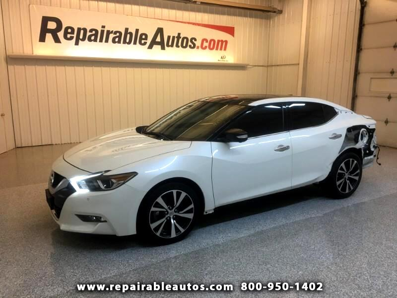 2017 Nissan Maxima Platinum Edt. Repairable Rear Damage