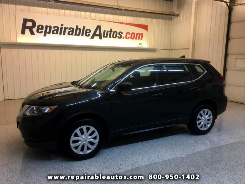 2018 Nissan Rogue AWD Repairable Water Damage
