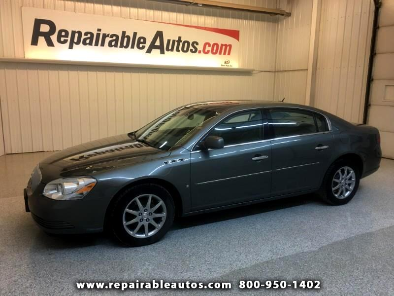 used 2008 buick lucerne cxl repairable hail damage for. Black Bedroom Furniture Sets. Home Design Ideas