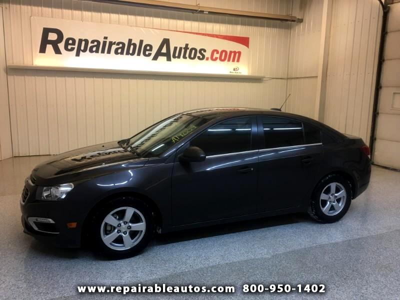 2015 Chevrolet Cruze LT Repairable Hail Damage
