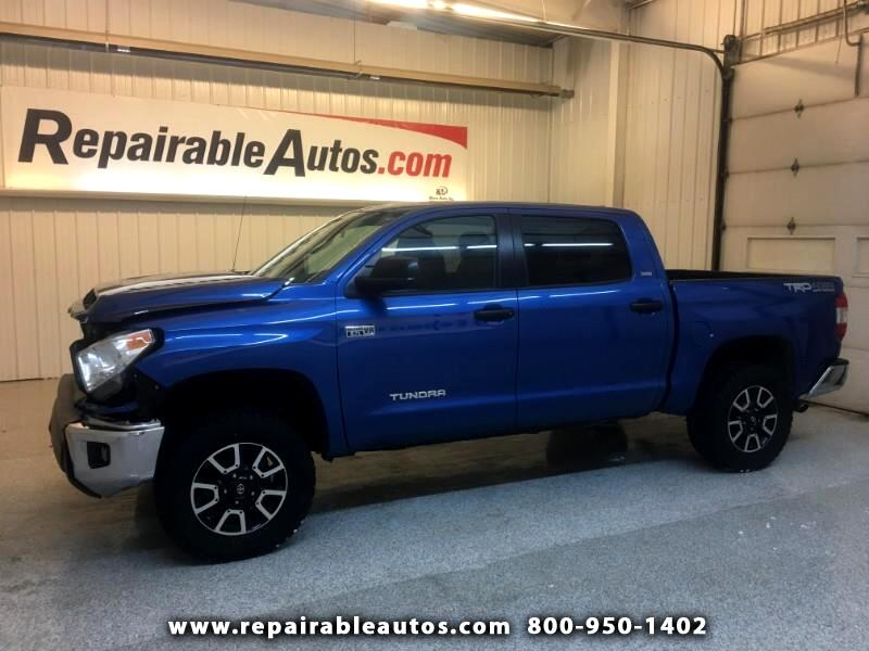 2016 Toyota Tundra SR5 4WD Repairable Front Damage