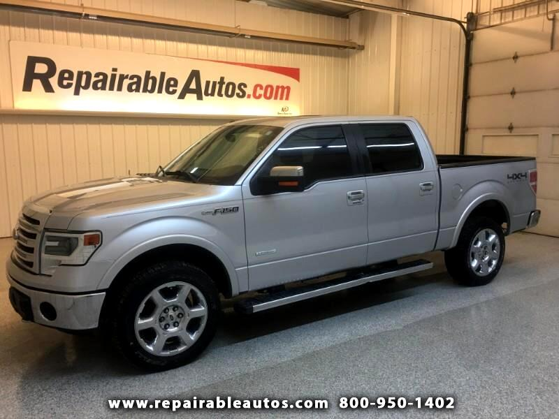 2014 Ford F-150 Lariat 4WD Repairable Theft Damage