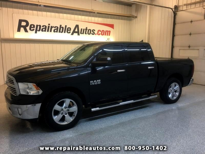 2016 RAM 1500 4WD Repairable Rear Damage