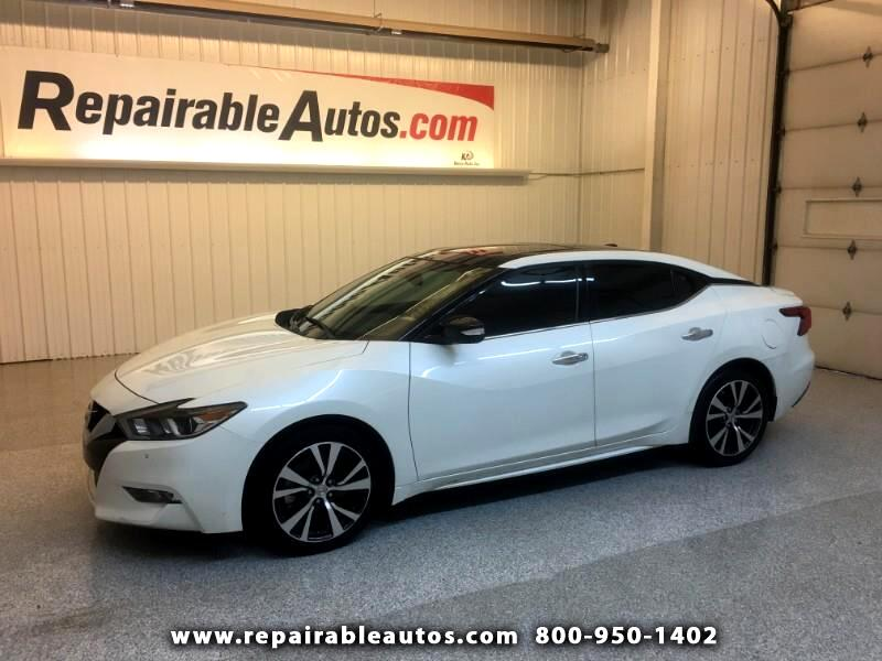 2017 Nissan Maxima SL Repairable Water Damage