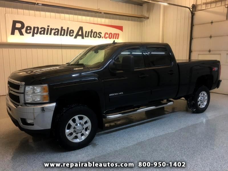 2013 Chevrolet Silverado 2500HD LTZ 4WD Repairable Theft/Vandalism Damage
