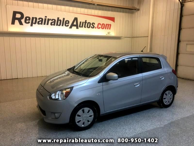 2015 Mitsubishi Mirage Repairable Hail Damage