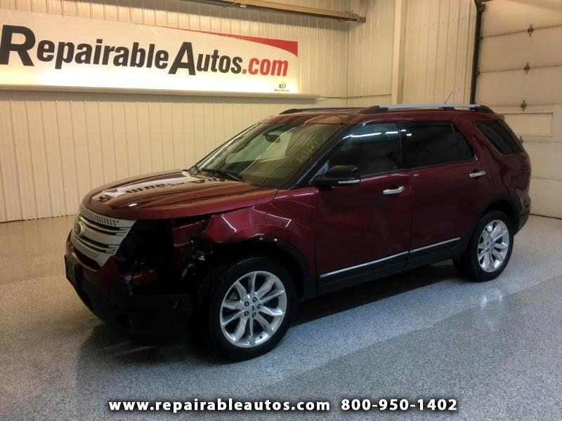 2015 Ford Explorer XLT AWD Repairable Front/Side Damage