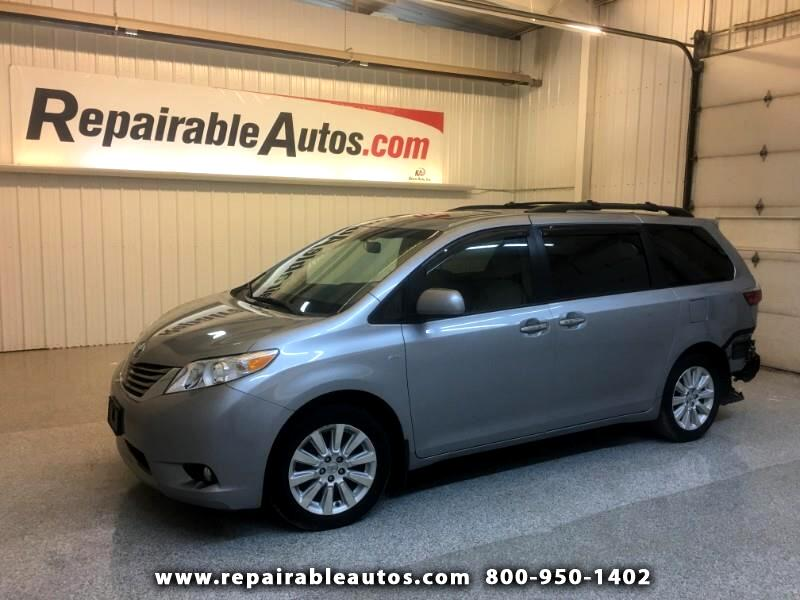 2016 Toyota Sienna XLE AWD Repairable Water Damage