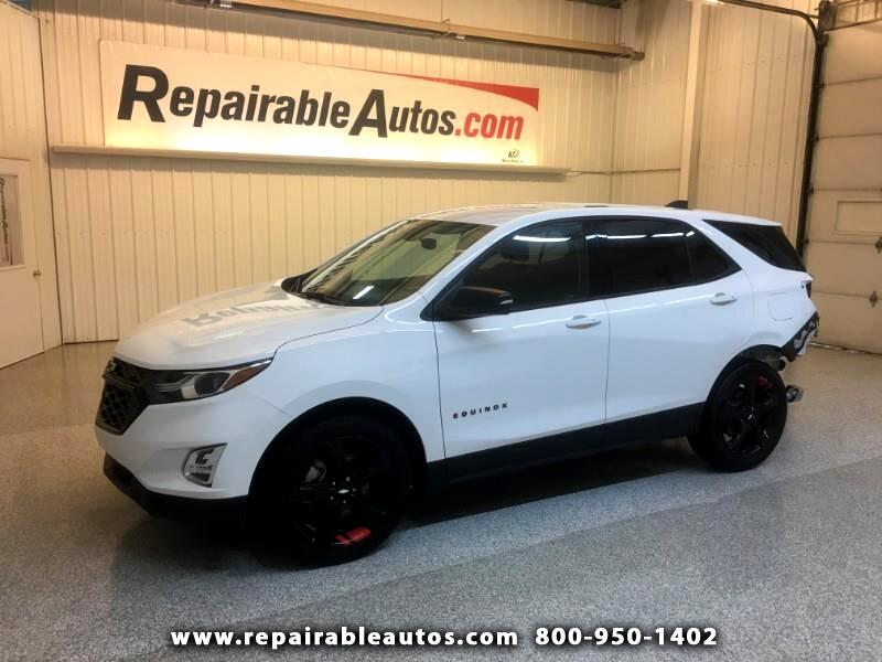 2018 Chevrolet Equinox AWD Repairable Rear Damage