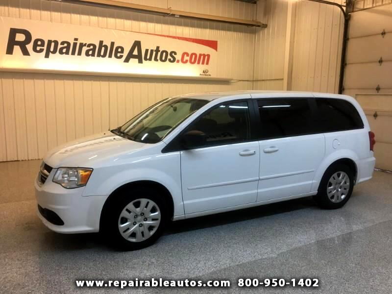 2017 Dodge Grand Caravan Repairable Water Damage