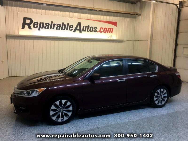 2016 Honda Accord Sport Repairable Theft/Interior Burn