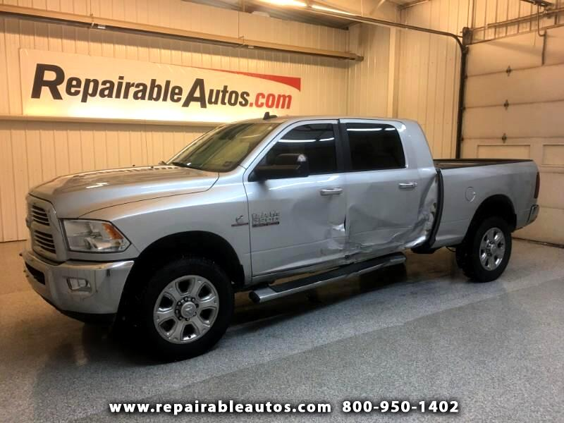 2015 RAM 2500 Bighorn Edt 4WD Repairable Side Damage