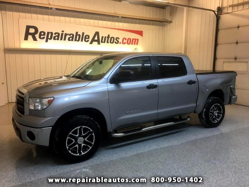 2012 Toyota Tundra CrewMax 4WD Repairable Side Damage