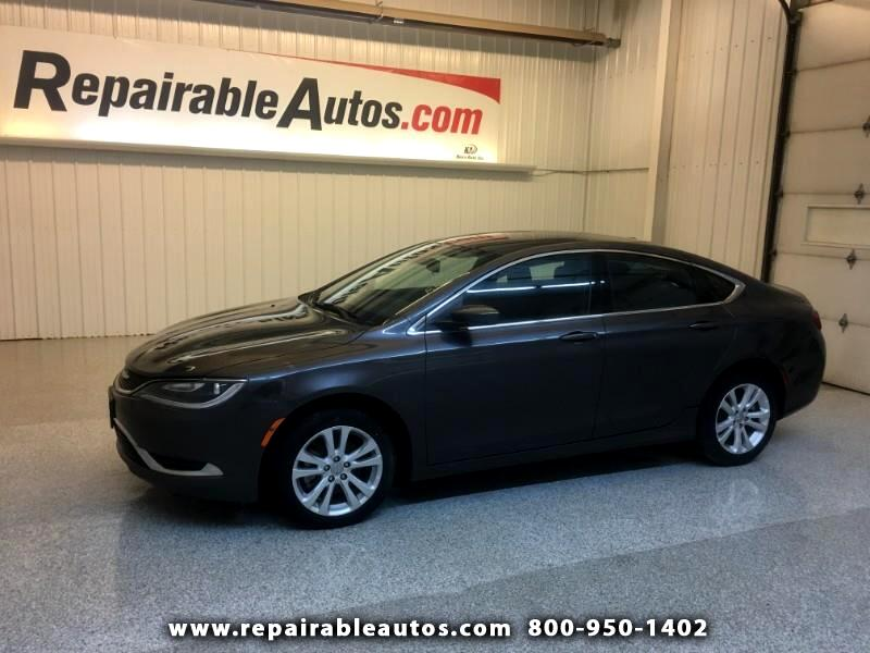 2015 Chrysler 200 Repairable Water Damage