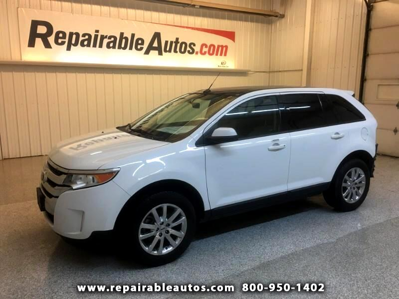 2014 Ford Edge SEL 4WD Repairable Rear Damage