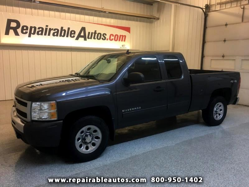 2011 Chevrolet Silverado 1500 LS 4WD Repairable Rear Damage