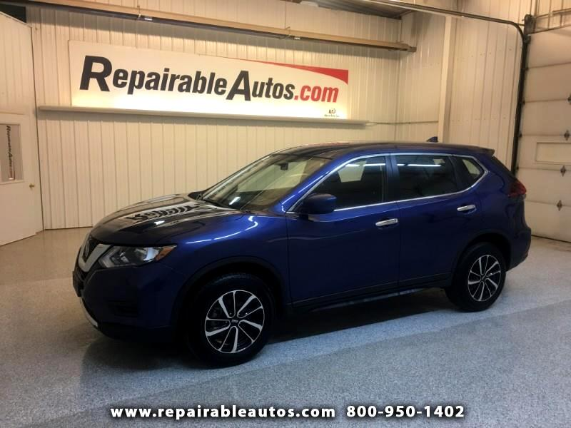 2018 Nissan Rogue AWD Repairable Front Damage