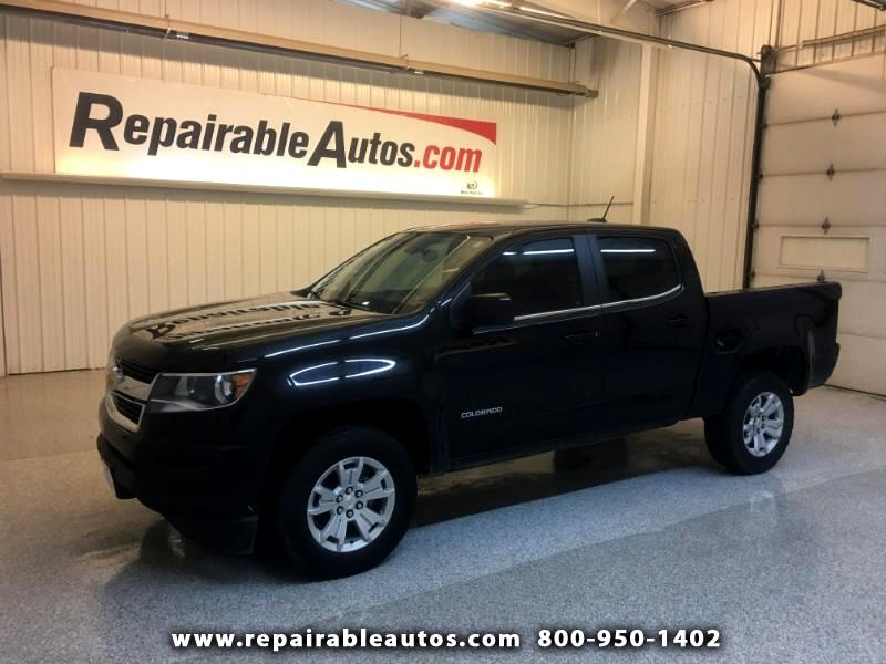 2017 Chevrolet Colorado 2WD Repairable Rear Damage